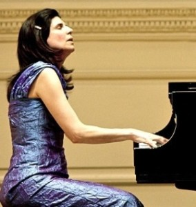 Nancy M. Williams at Carnegie Hall
