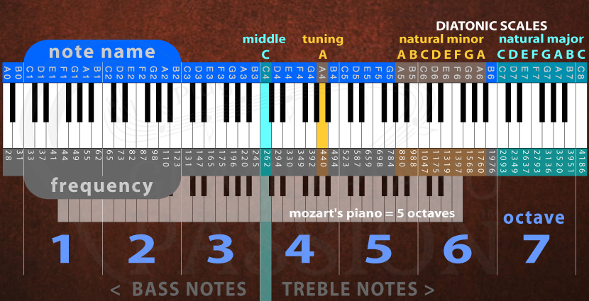 Grand Piano Passion Piano Keys Theory History Math Grand