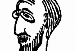 Erik_Satie_self_portrait
